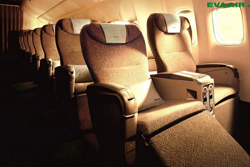 Taiwan's EVA Air was one of the earliest to offer premium economy class. -- FILE PHOTO:EVA AIR