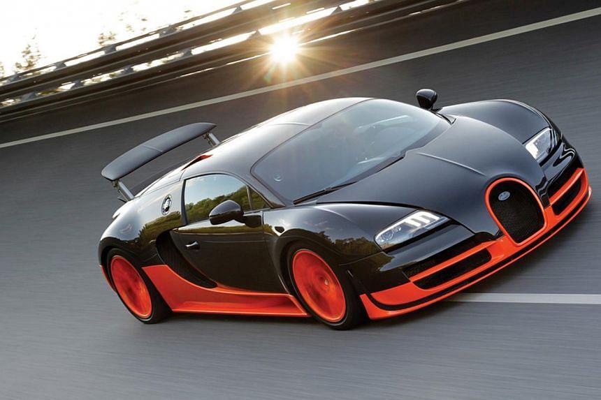 The Bugatti Veyron 16.4 Super Sport is a modern 1,200-horsepower beauty.