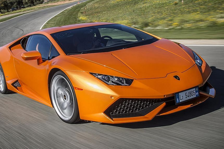 The Huracan is a supercar with top-flight design and materials.