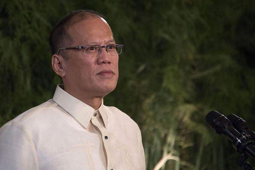 Philippine President Benigno Aquino on Saturday urged fellow Southeast Asian leaders to face up to the threat posed by China's contentious claims to most of the South China Sea as they headed to a regional summit. -- FILE PHOTO: AFP