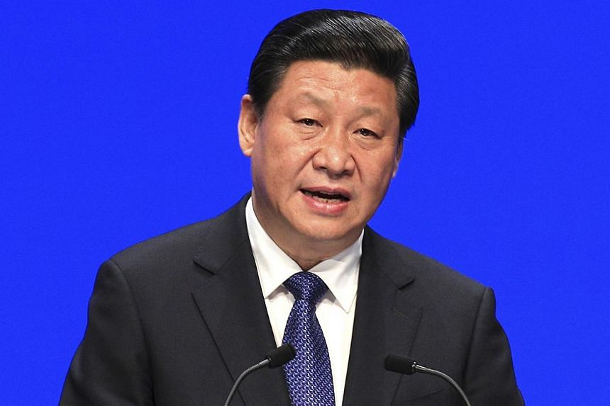 China's President Xi Jinping has called for the acceleration of land transfers to help modernise the country's agriculture, state media reported on Saturday. -- FILE PHOTO: REUTERS