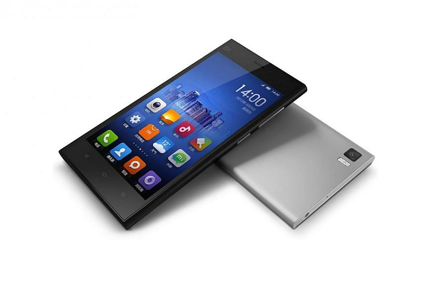 Xiaomi's Mi3 smartphone, which costs much less than Samsung's Galaxy S5 and Apple's iPhone 5s.Xiaomi may be little known outside China, but the fast-growing smartphone maker is at the forefront of a new wave of Asian brands challenging the domi