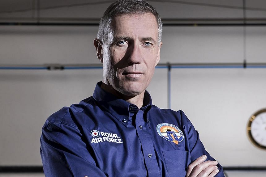 The Bloodhound Supersonic Car is designed to go at 1,000 miles per hour, or about 1,600kmh, and set a new world land speed record, driven by current record holder Andy Green (above).--PHOTO: ROLEX