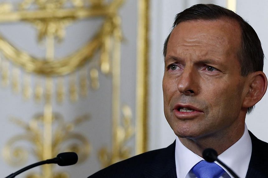 """Australia's first budget under conservative Prime Minister Tony Abbott (above) to be released on Tuesday promises to end the """"age of entitlement"""", with spending cuts and tax rises expected as the nation strives to rein in its deficit. -- FILE PHOTO:"""