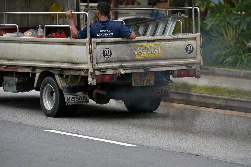 Certain chemicals that are common in everyday life, such as those from vehicle exhaust, have been shown to cause breast cancer in lab rats and are likely to do the same in women, US researchers said on Monday, May 12, 2014. -- ST PHOTO: KUA CHEE SION