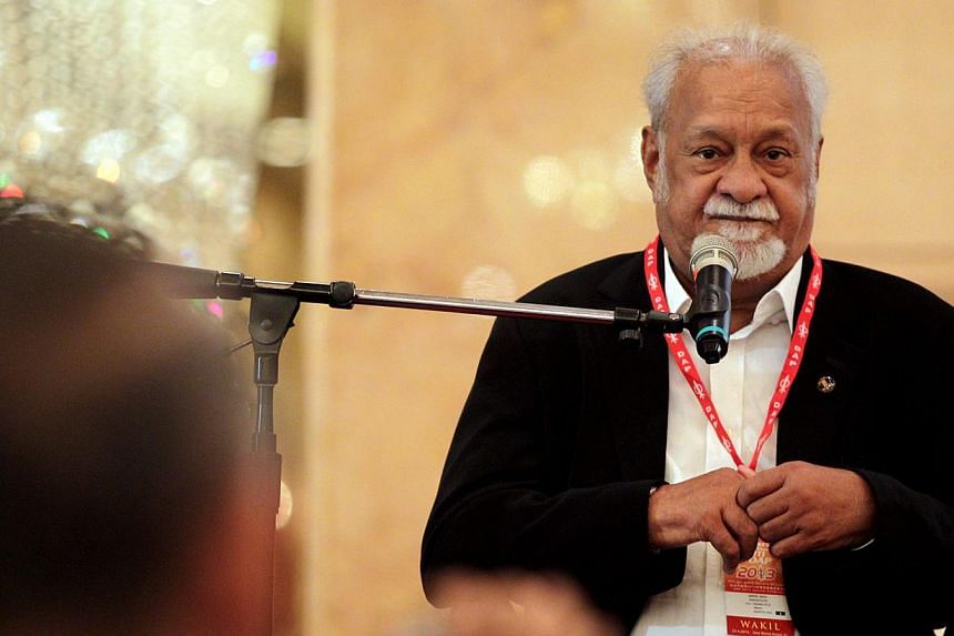 Four candidates will be vying for Penang's Bukit Gelugor seat on May 25, after its former Member of Parliament Karpal Singh (above) died in a road accident last month and triggered the by-election. -- ST FILE PHOTO: THE STAR PUBLICATION