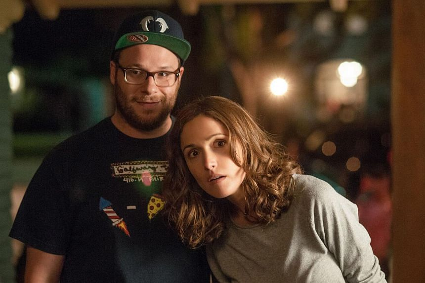 Neighbours starring Seth Rogen and Rose Byrne. -- FILE PHOTO: UIP/CINEMA STILL