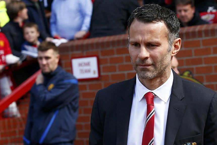 Having taken charge of United as interim boss for four games, Giggs has developed a taste for management, but the 40-year-old is unlikely to secure the Old Trafford job on a permanent basis. -- FILE PHOTO: REUTERS