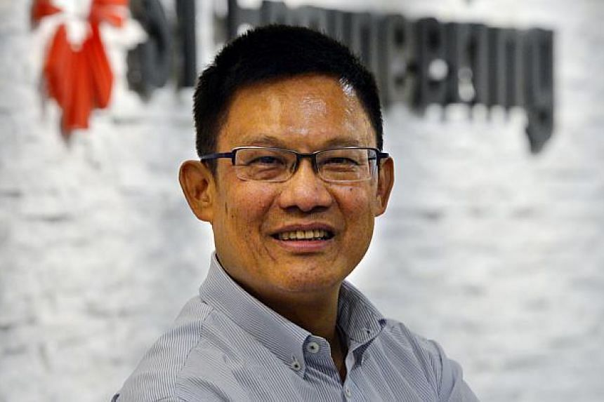 Mr Tan Pheng Hock, president and chief executive officer (CEO) of ST Engineering. -- ST FILE PHOTO: ARTHUR LEE CH