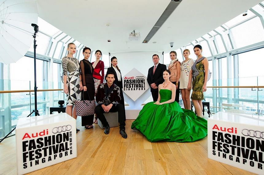 The 2014 Audi Fashion Festival's press conference.The five-day affair will have a record number of shows. Follow Urban's live coverage here. -- FILE PHOTO: AUDI FASHION FESTIVAL