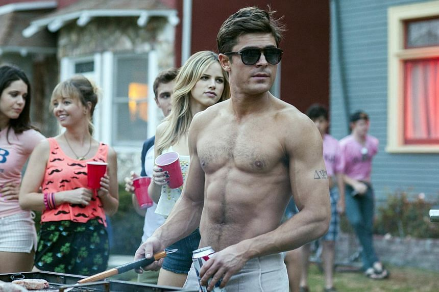 A cinema still from Bad Neighbours starring Zac Efron -- FILE PHOTO: UIP