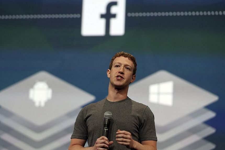 Facebook CEO Mark Zuckerberg speaks during his keynote address at Facebook's f8 developers conference in San Francisco, California on April 30, 2014. Facebook plans to open a sales office in China to work with local advertisers, Bloomberg reported, c