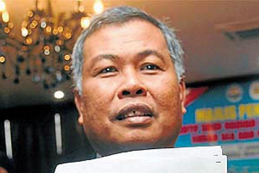 Hours after Seberang Takir assemblyman Datuk Ahmad Razif Abdul Rahman was appointed as the new Mentri Besar of Terengganu, his predecessor Datuk Seri Ahmad Said (above) announced his resignation from Umno. -- PHOTO:BHM