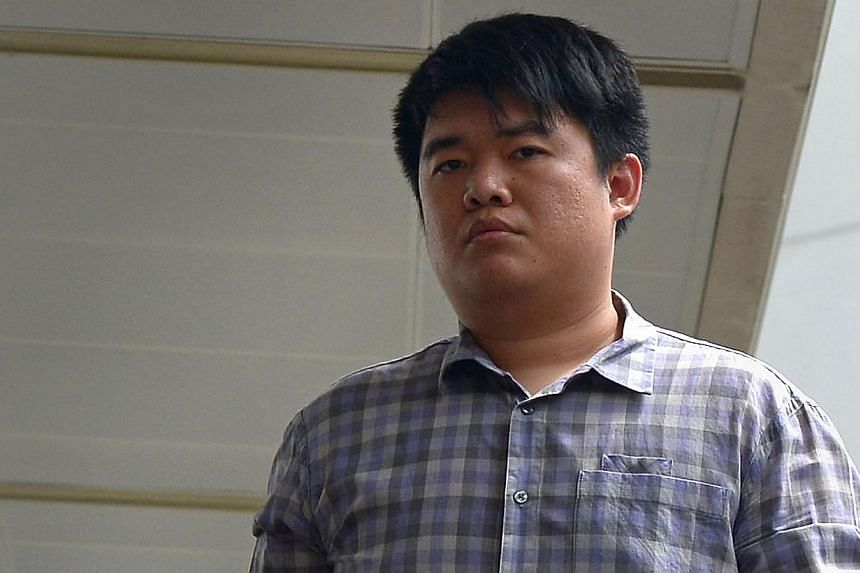 Quek Zhen Hao (above) was accused of two counts of driving in a rash manner and one of displaying threatening behaviour towards a female motorist. -- ST PHOTO: NG SOR LUAN