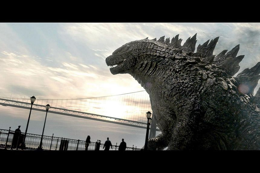 The latest Godzilla has been accused of being fat by some Japanese fans but director Gareth Edwards says it is just big-boned.