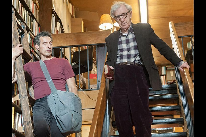 Woody Allen (left) plays a businessman who is low on cash and asks his florist friend (John Turturro, far left) to be a gigolo. Scene stealer Sharon Stone (above) plays a client of the gigolo.