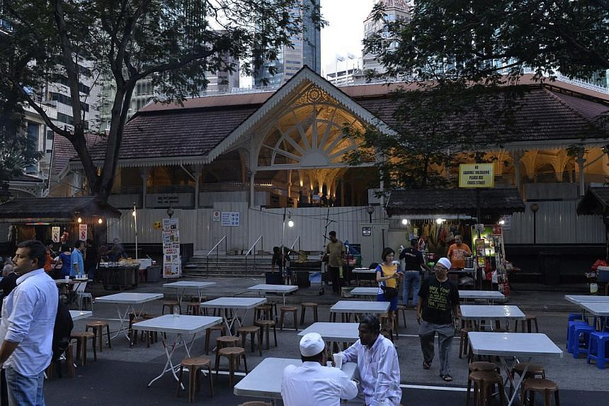 The iconic food centre was slated to begin operations late last month after it closed on Sept 1 last year for what was to have been a two-month renovation costing $4 million.