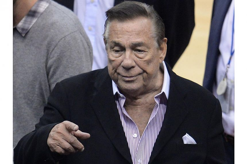 Controversial new remarks by Donald Sterling (above) disgraced owner of the Los Angeles Clippers basketball team, provoked fresh outrage Tuesday despite his apology for earlier racially-charged comments. -- FILE PHOTO: AFP