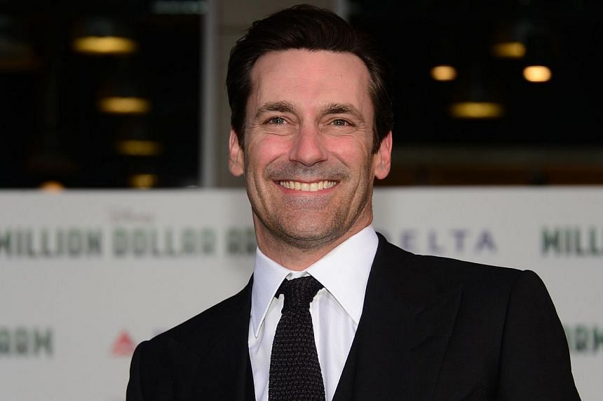 In the new Disney film Million Dollar Arm, Jon Hamm is soaked in perspiration, not the alcohol-induced sweat of his Mad Men character Don Draper, but the kind that comes from filming a modest production in India in the hottest part of the year. -- FI