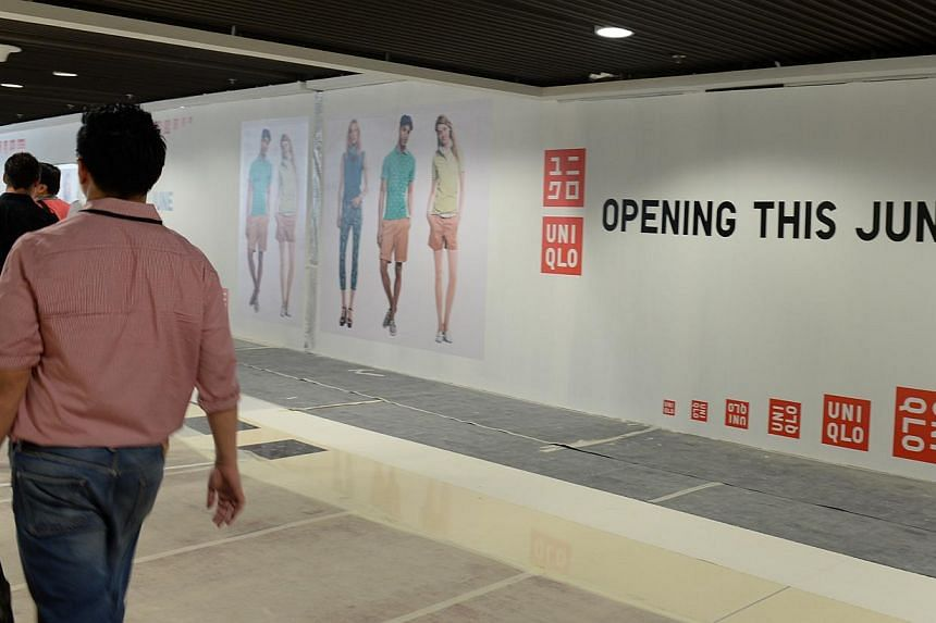 Tour of the mall at Singapore Sports Hub and unveiling of the retail name and tenants. -- ST PHOTO: AZIZ HUSSIN