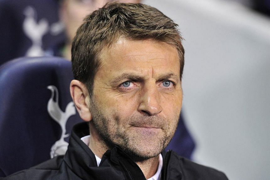 Tim Sherwood has been sacked as manager of Tottenham Hotspur, the English Premier League club announced on Tuesday. -- FILE PHOTO: AFP