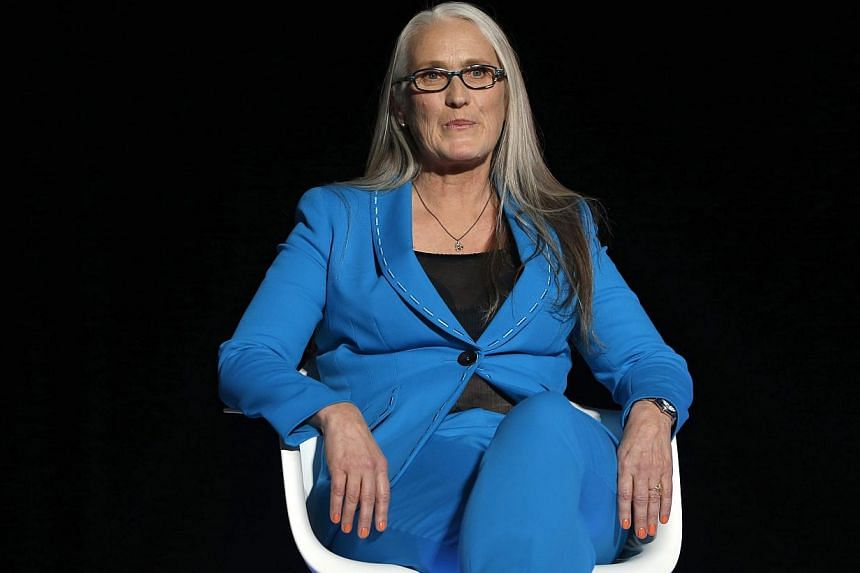 President of the Jury, New Zealand director Jane Campion attends the Opening Ceremony of the 67th annual Cannes Film Festival, in Cannes, France, on 14 May 2014. -- PHOTO: EPA