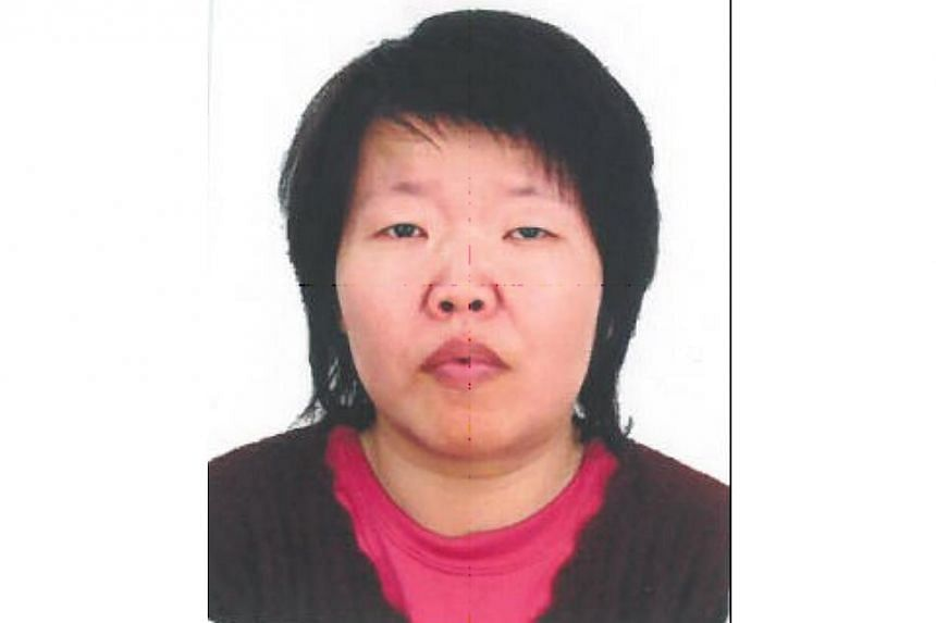 Police are appealing for information on the whereabouts of 44-year-old Ms Lee Choon Boey (pictured). -- PHOTO: SINGAPORE POLICE FORCE