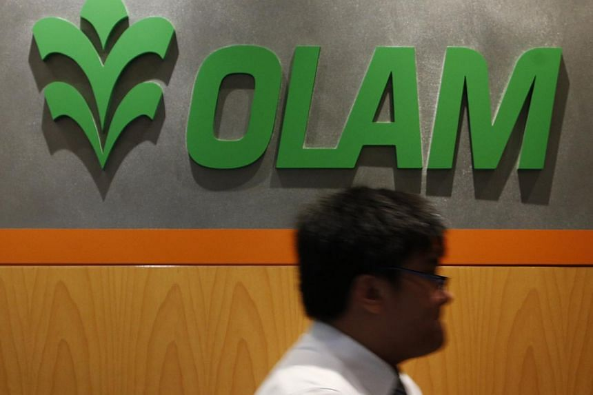 Agricultural products supplier Olam International said on Thursday its net profit for the third quarter nearly tripled, owing to a fair value gain of $271 million from the revaluation of its stake in natural sweetener company PureCircle. -- FILE PHOT