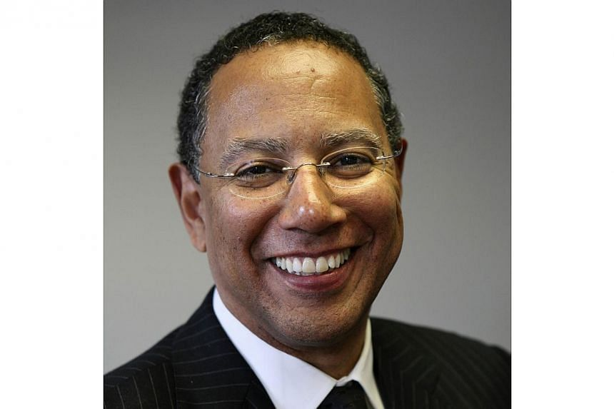 This 2007 handout photo received on may 14, 2014, courtesy of the New York Times shows Dean Baquet in Washington, DC. Hard-charging editor Dean Baquet was once sacked for standing by his reporters. He bounced back and is now the first African Am