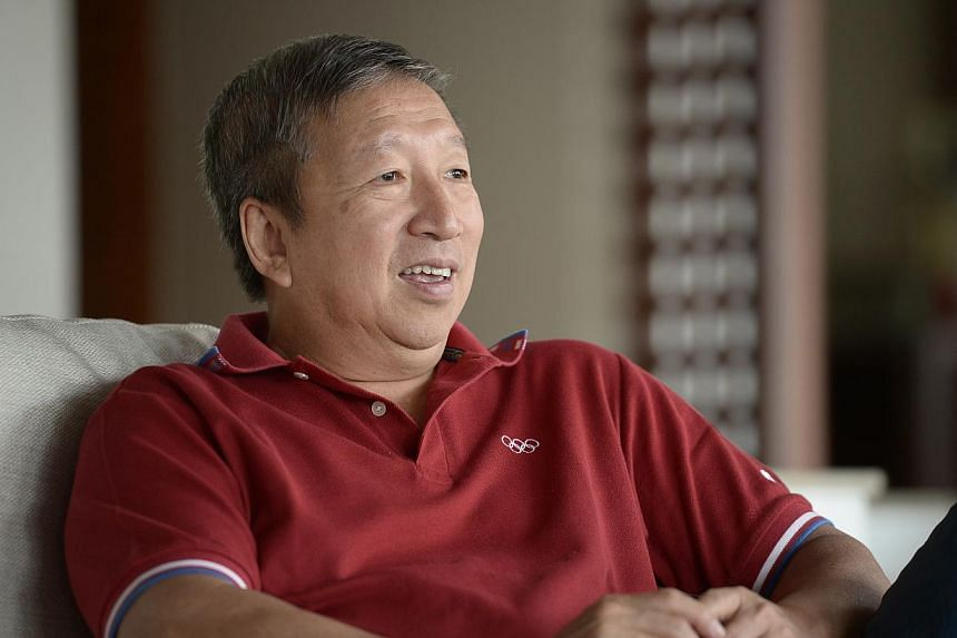 Regarded as Singapore's 'Mr Olympics', Ng Ser Miangwas then the chairman of the Singapore Sports Council. He previously served as first vice-president of the International Olympic Committee and is now a member of the powerful international spor