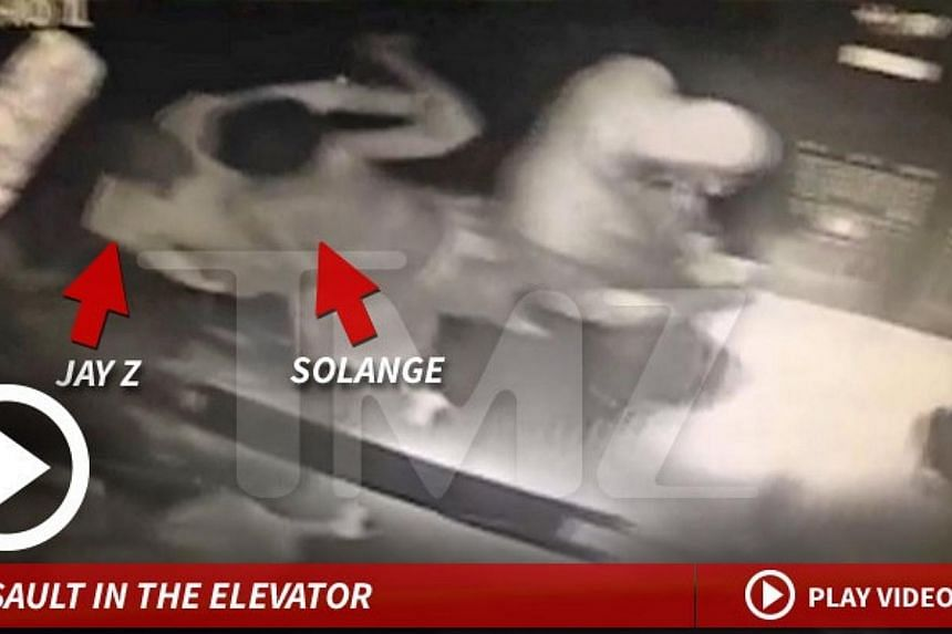A screengrab of the leaked video. -- SCREENGRAB: TMZ.COM