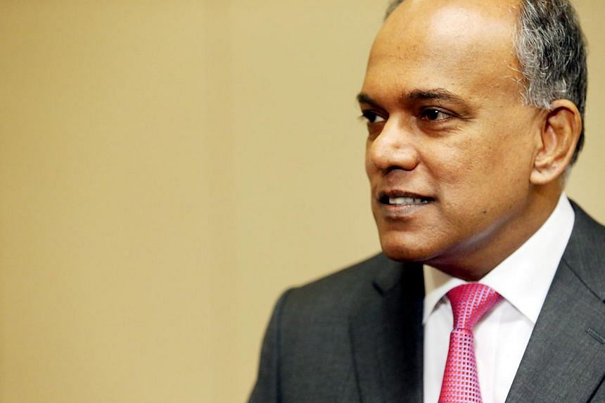 Speaking to the media in Washington, Mr Shanmugam said that Singapore had raised concerns about the attacks to the Vietnamese. -- FILE PHOTO:ZAOBAO