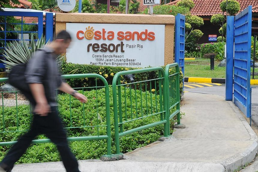 The Costa Sands Resort in Pasir Ris will close on July 20 after 12 years of operations. -- FILE PHOTO: NP