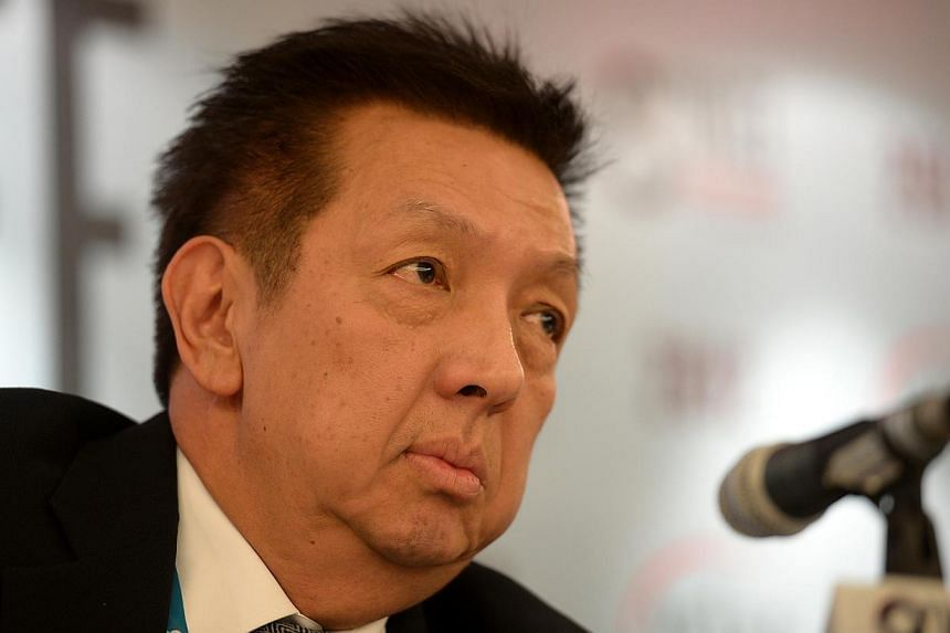 Singapore property tycoon Peter Lim has been confirmed as the new owner of Spanish La Liga football club Valencia CF. -- ST FILE PHOTO:MUGILAN RAJASEGERAN
