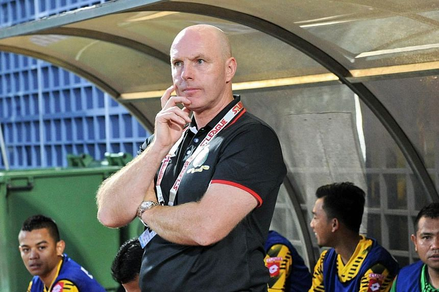 A figure of fun during a painful spell with Blackburn Rovers, Steve Kean has rebounded to become a respected, man in demand having steered Brunei DPMM to the top of Singapore football's S-League. -- FILE PHOTO: AFP