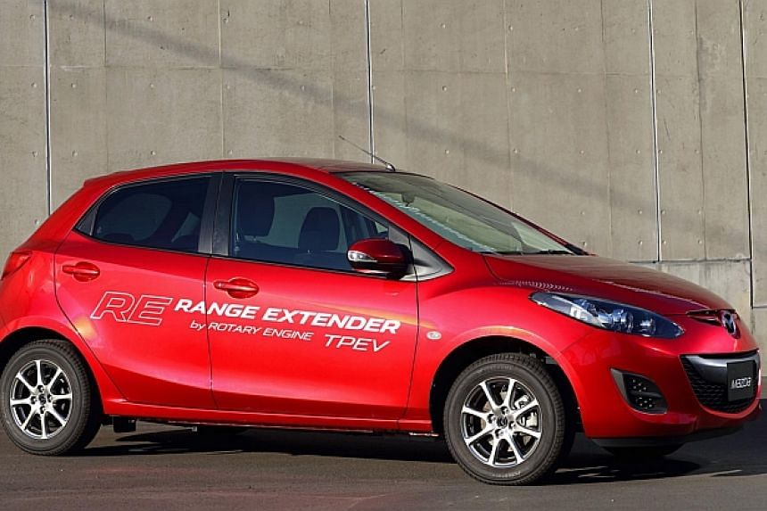 The new Mazda 2 electric vehicle.Despite growing demand for electric vehicles, internal combustion engines are expected to remain the main source of power for cars for the time being. Two of Japan's leading universities will join Toyota, Honda,