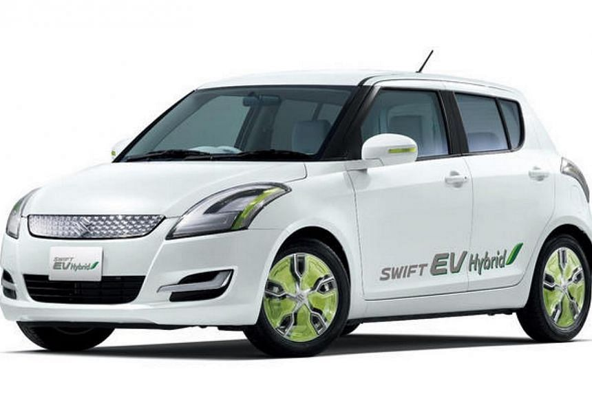 The Suzuki Swift EV Hybrid.Despite growing demand for electric vehicles, internal combustion engines are expected to remain the main source of power for cars for the time being. Two of Japan's leading universities will join Toyota, Honda, Nissa