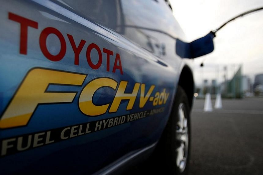 A Toyota Fuel Cell Hybrid Vehicle. Despite growing demand for electric vehicles, internal combustion engines are expected to remain the main source of power for cars for the time being. Two of Japan's leading universities will join Toyota, Honda