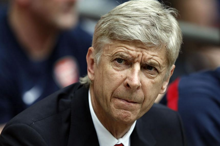 Arsenal's French manager Arsene Wenger attends the English FA Cup final match between Arsenal and Hull City at Wembly Stadium in London on May 17, 2014. -- PHOTO: AFP