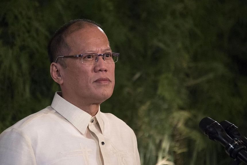 """Philippine President Benigno Aquino on Monday accused China of violating the """"Declaration of Conduct"""" it signed in 2002, after it allegedly began reclaiming land on a disputed reef in the South China Sea. -- FILE PHOTO: AFP"""