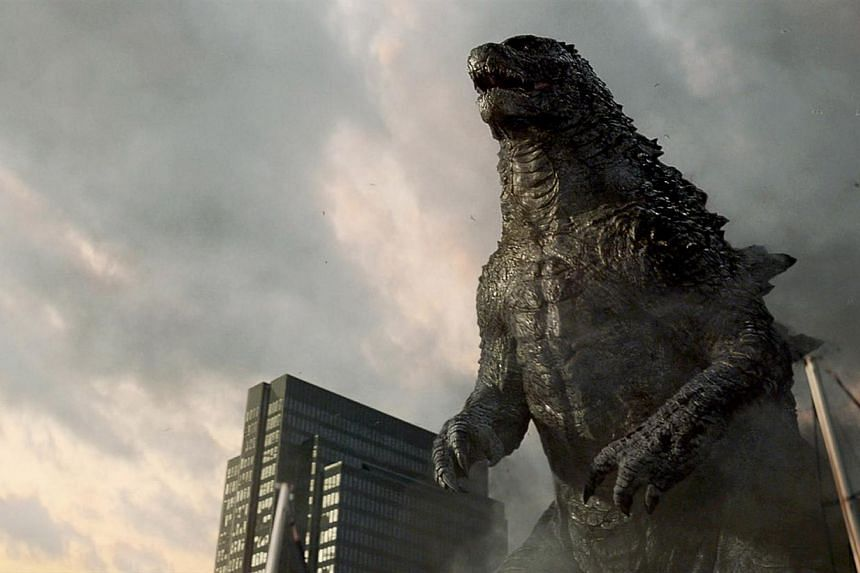 The latest remake of classic monster flick Godzilla stormed to the top of the North American box office in its opening weekend with a killer US$93.2 million (S$117 million), industry estimates said on Sunday. -- FILE PHOTO:WARNER BROS
