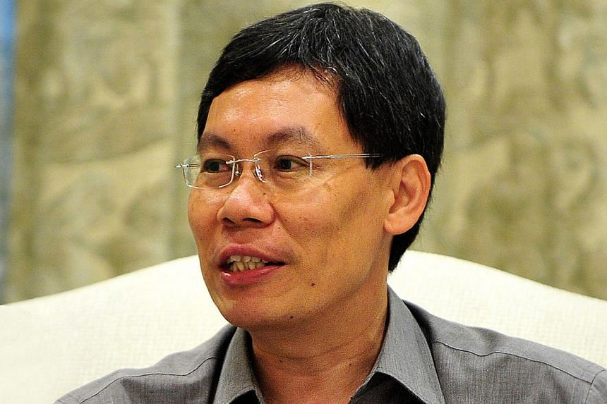 Transport Minister Lui Tuck Yew will travel to Europe from Tuesday to Friday for the International Transport Forum Annual Summit. -- ST FILE PHOTO: ALPHONSUS CHERN