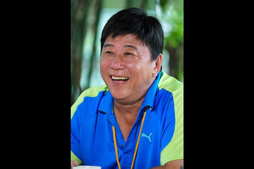 Actor Ha Yu plays a soccer coach in his new drama serial World At Your Feet.