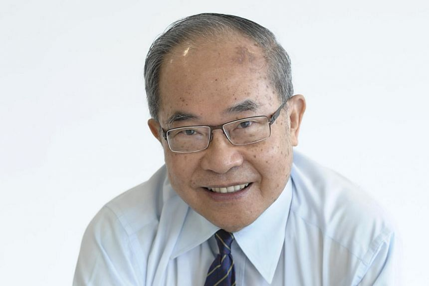 Professor Cham Tao Soon, the founding chancellor and chairman of SIM University (UniSIM), has retired from his position after about nine years at the helm. -- ST FILE PHOTO: MARK CHEONG