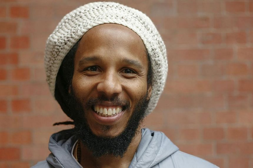 Musician Ziggy Marley poses for a portrait ahead of his headline show in London, in support of his 5th album Fly Rasta, on April 23, 2014. -- FILE PHOTO: REUTERS