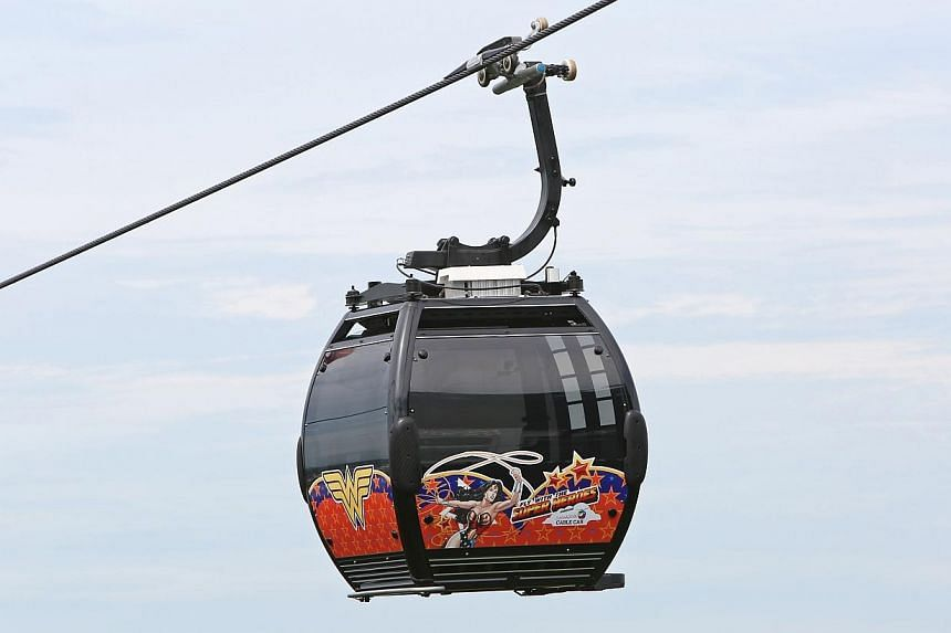 Mount Faber is celebrating its re-branding with a DC superheroes themed campaign that will feature superhero-decorated cable cars. From the end of May, visitors riding the cable cars between Mount Faber and Sentosa can fly with their favourite superh