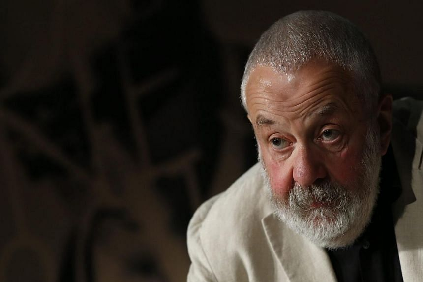 British director Mike Leigh attends the press conference for the film, Mr Turner during the 67th annual Cannes Film Festival, in Cannes, France on 15 May 2014. -- FILE PHOTO: EPA