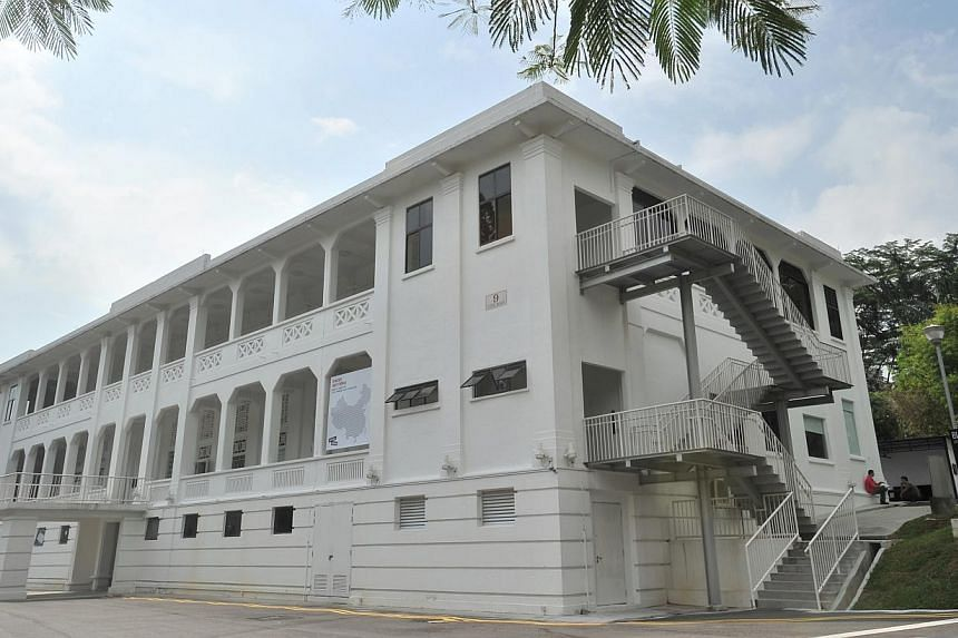Gillman Barracks. Once a ghost town of sorts with only serious art collectors making the trek to that remote corner of Alexandra Road, gallery enclave Gillman Barracks has seen stirrings of life in the last six months. -- ST FILE PHOTO: LIM YAOHUI&nb