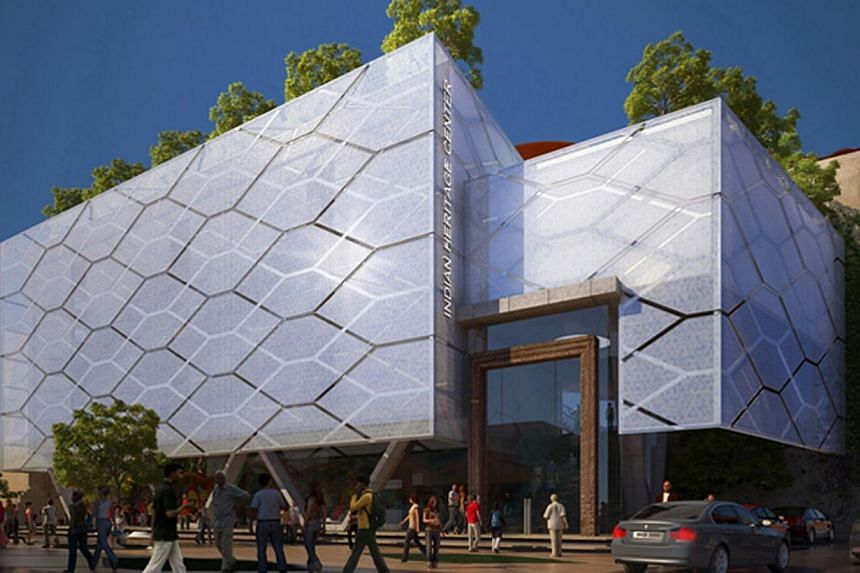 Artist's impression of the award-winning Indian Heritage Centre. -- PHOTO: URBNARC PTE LTD