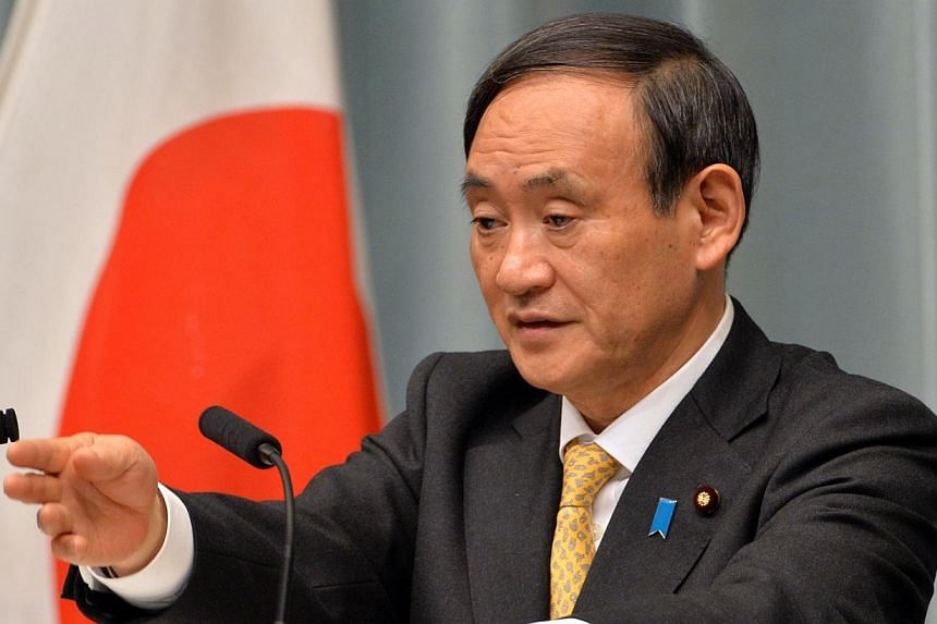"""""""We have grave concerns about the situation in Thailand,"""" Chief Cabinet Secretary Yoshihide Suga told reporters in Tokyo. -- FILE PHOTO: AFP"""